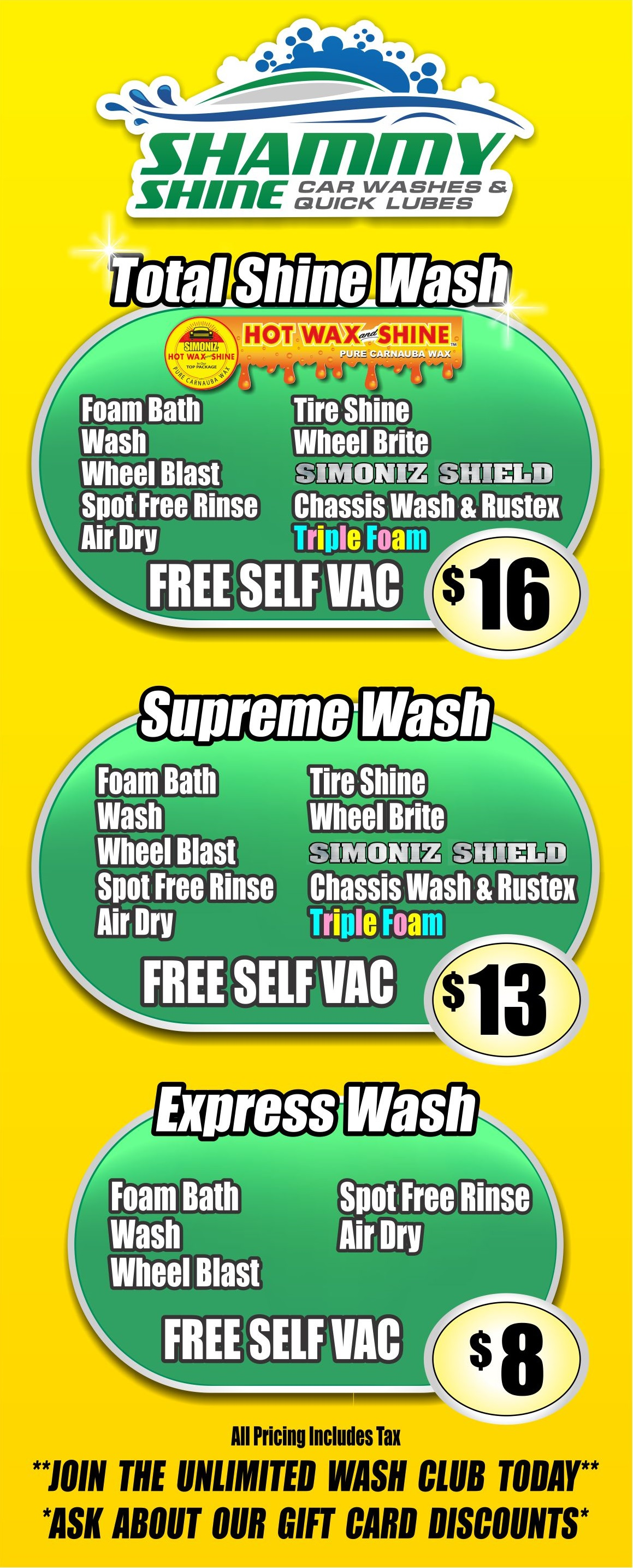 express menu boards free vacs